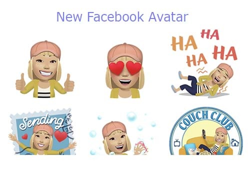 New Facebook Avatar