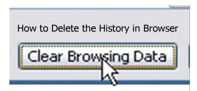 How to Delete the History in Browser