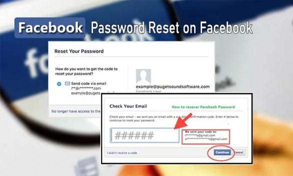 Password Reset on Facebook