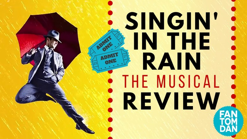 Johannesburg singin' in the rain in stage