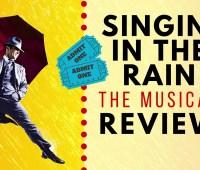 Johannesburg singin' in the rain in stage