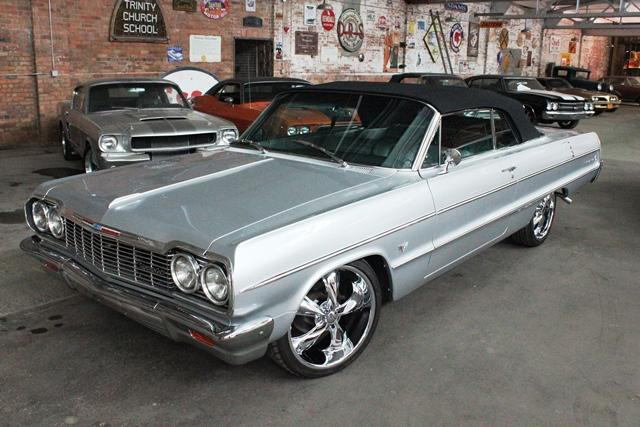 1964 chevrolet impala convertible fantomworks. Black Bedroom Furniture Sets. Home Design Ideas