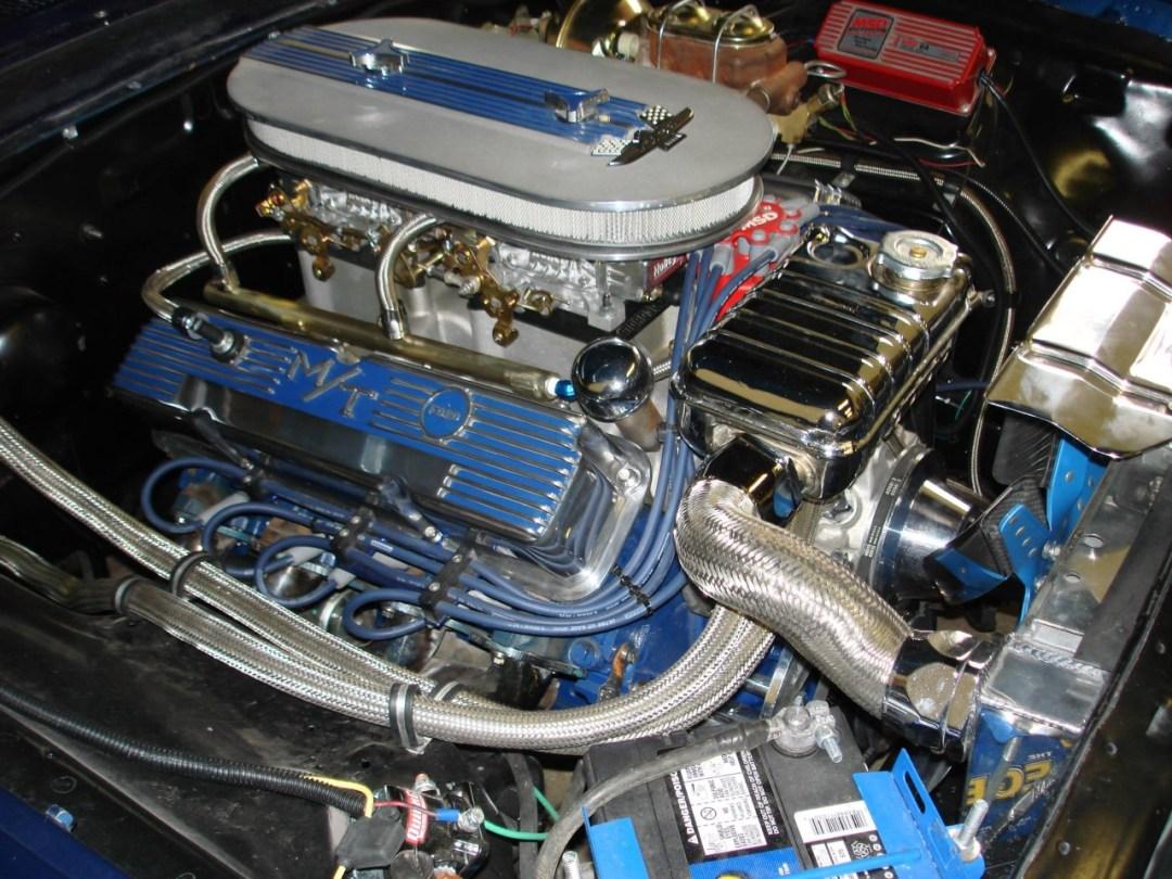 1964 Ford Galaxie Engine