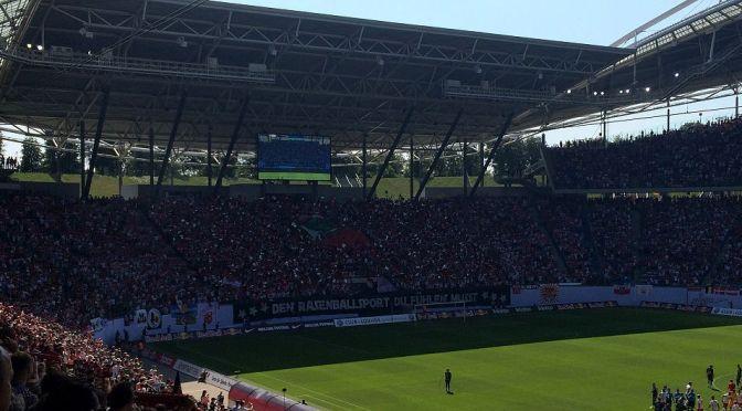 RB-Fan-Choreo beim Spiel gegen St.Pauli 2015