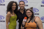 INTERVIEW: Midnight Texas - Parisa Fitz-Henley & Dylan Bruce - WonderCon 2017