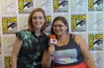 INTERVIEW: Katherine Barrell - Wynonna Earp - San Diego Comic Con 2017