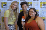 INTERVIEW: Stitchers - Emma Ishta (Kirsten) & Kyle Harris (Cameron) - San Diego Comic Con 2017
