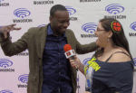 INTERVIEW: Stars of Timeless Malcolm Barrett, Sakina Jaffrey, Goran Visnjic, and More - WonderCon 2018