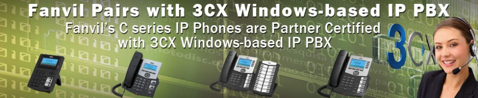 Fanvil Compatible with 3CX Phone System