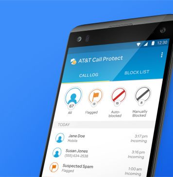 at&t call protect on phone