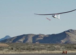 vanilla drone in flight