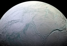 enceladus from space