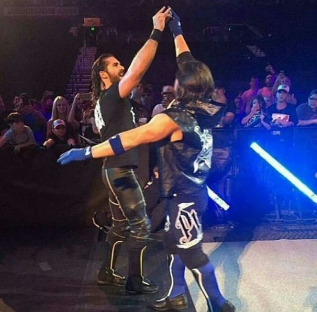 SETH ROLLINS AND AJ STYLES TO SWAP BRANDS AFTER WRESTLEMANIA 34?