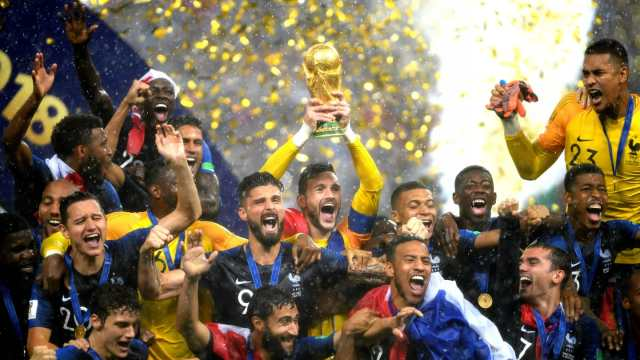 2018 FIFA World Cup Final: France 4-2 Croatia