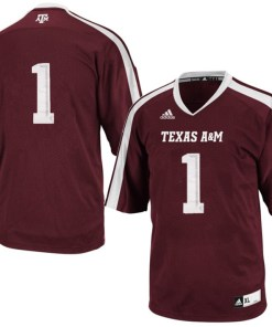 Adidas NCAA Texas A&M Aggies Tx A&M #1 Football Premier Team Color Jersey