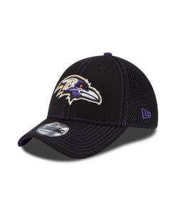 Baltimore Ravens Black Crux Line Neo 39THIRTY Flex Hat