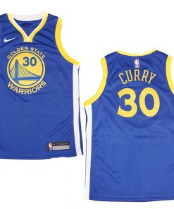 best authentic decb3 aa219 Youth Nike NBA Golden State Warriors #30 Stephen Curry Blue ...