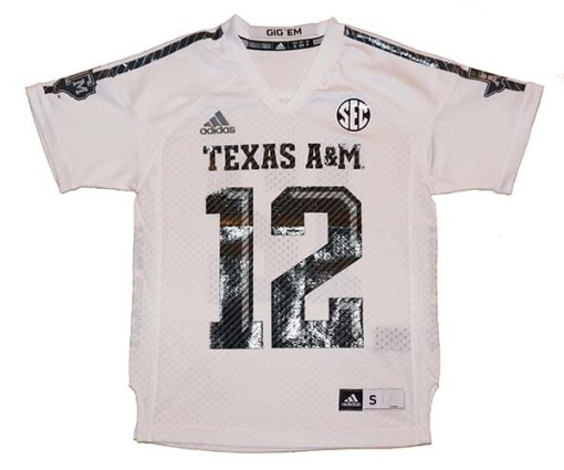 NCAA Texas AM Jersey 12