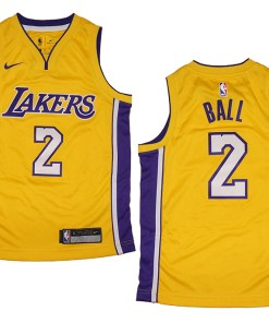 Los Angeles Lakers Lonzo Ball NBA Jersey Fanwears