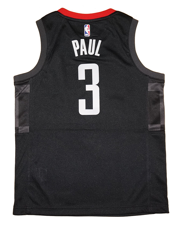 quality design c79b0 e68dd Youth Nike Houston Rockets #3 Chris Paul Black Swingman ...