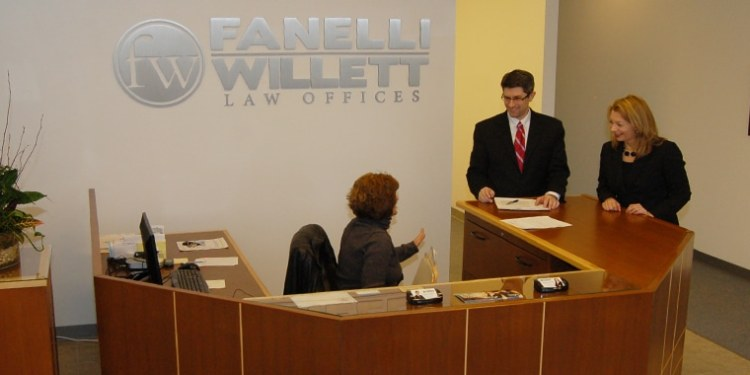 Fanelli Willett Law Offices - Main Lobby