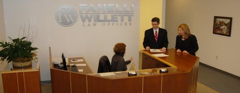 Fanelli Willett Law Offices - Main Lobby