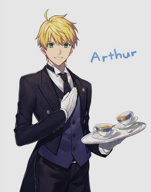 arthur fate stay night