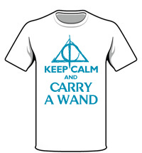 Camiseta Carry a Wand