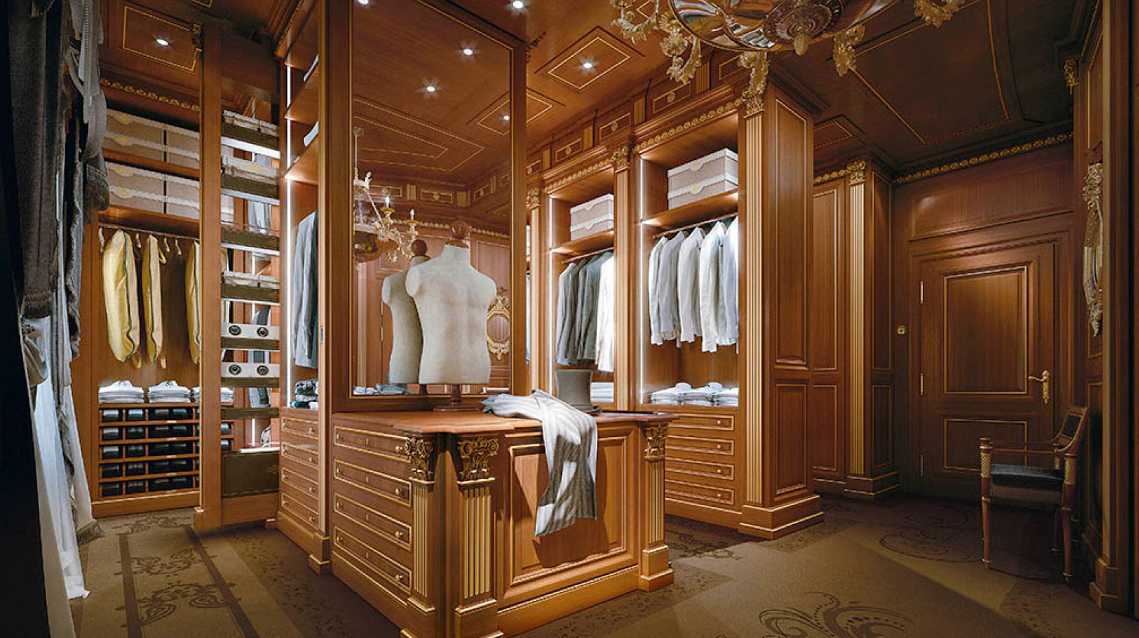 Bespoke walkin closet Made in Italy  Prince by Faoma