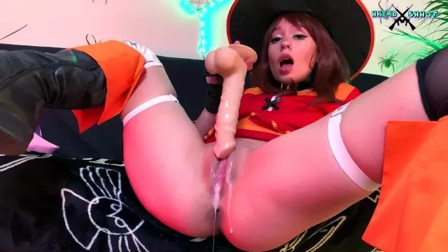 Superb Cosplay Megumin Loves To Fuck His Big Dick