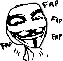 Highly amused fapper