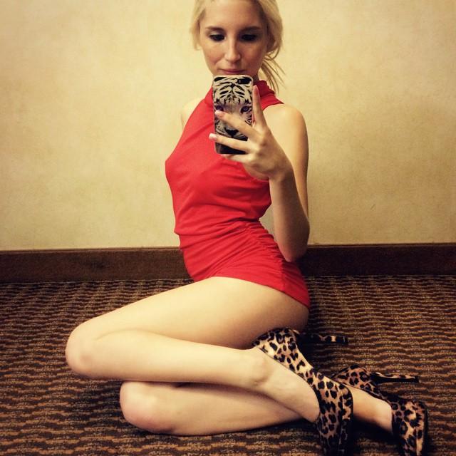 piper-perri-in-a-red-dress