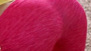 Hot Tiny Blonde Piper Perri Peels Off Her Pink Yoga Pants