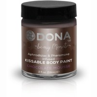 Dona Kissable Body Paint - CHOCOLATE MOUSSE