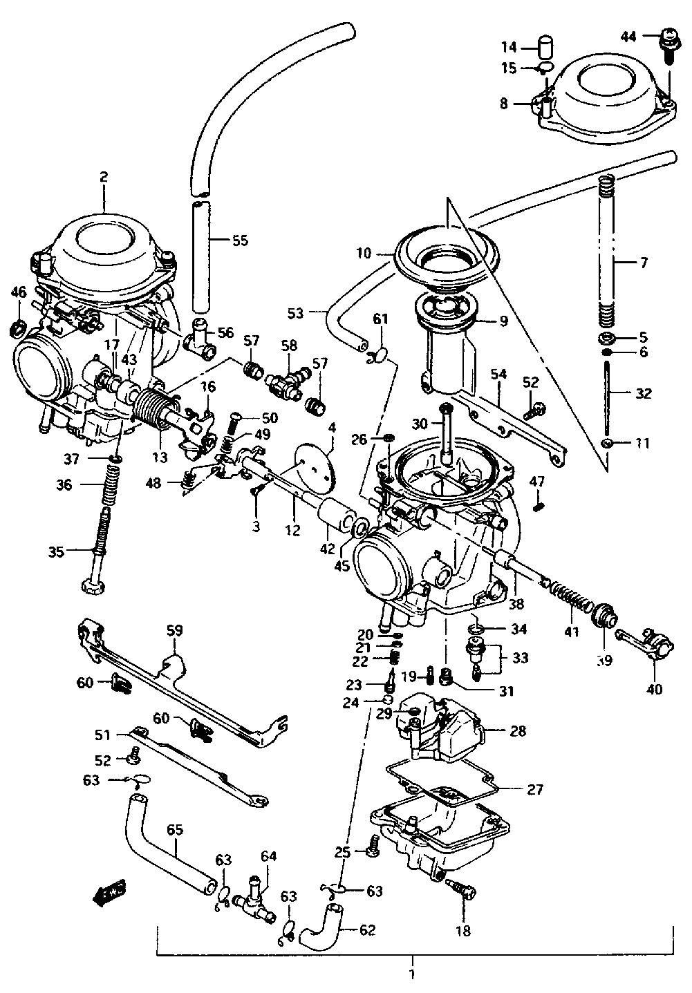 hight resolution of keihin vb carb diagram