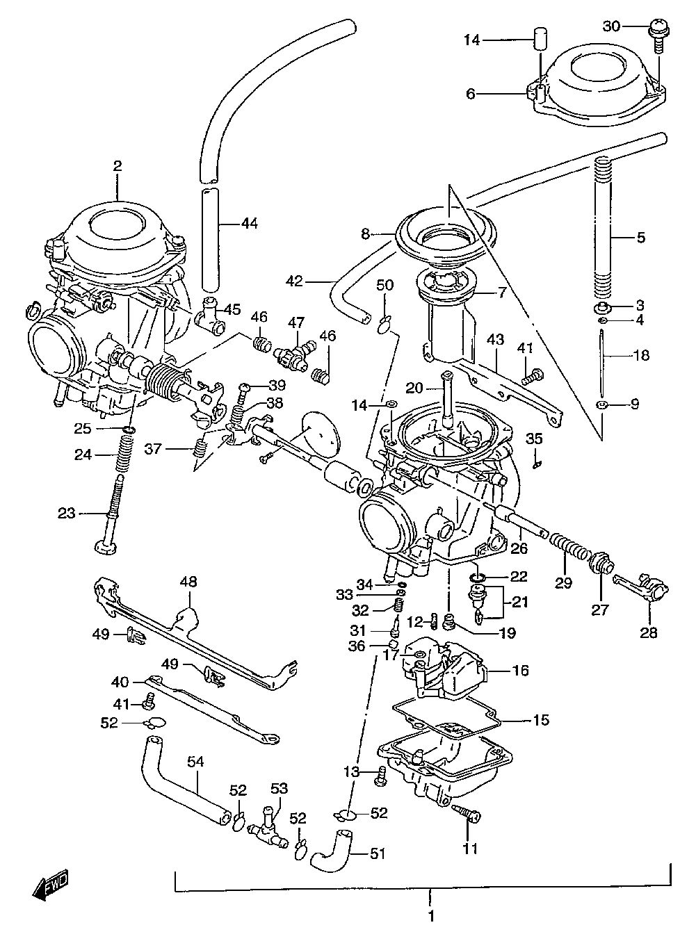 hight resolution of  fuse panel diagram gs500ecarburetorv 97 w 98 x 99 y