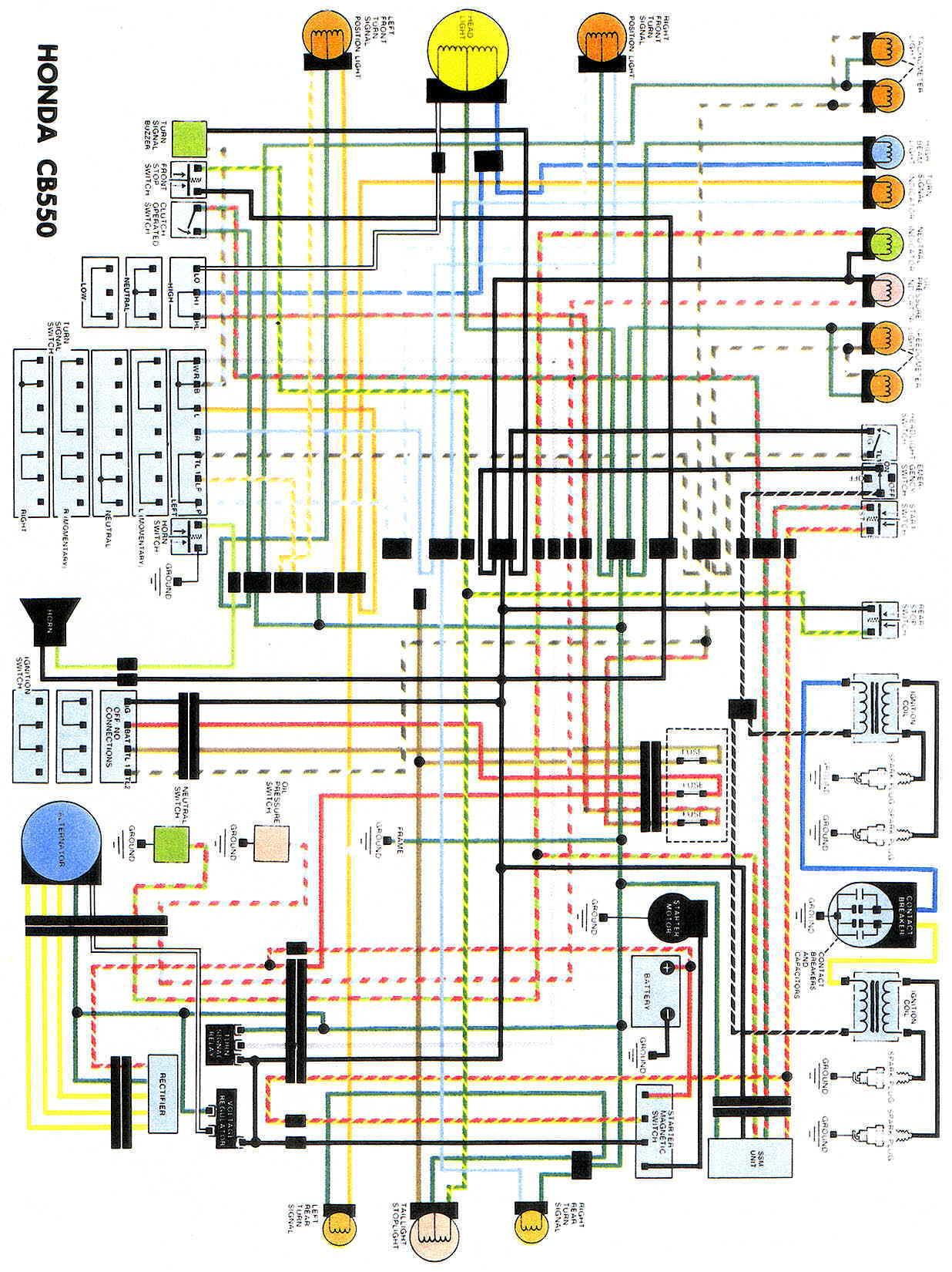 honda cb400 4 wiring diagram chinese atv 50cc rectifier faq