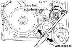 DRIVE BELT AUTO-TENSIONER CHECK