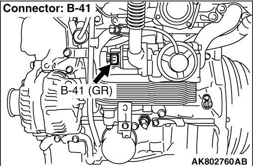 Code No. P0489: EGR Valve Position Sensor Circuit Low Input