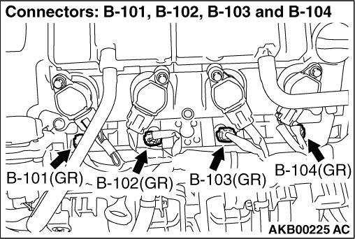Code No. P0134: Oxygen Sensor (front) Circuit No Activity