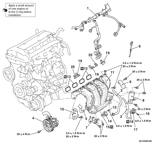 [2009 Mitsubishi Outlander Timing Belt Manual