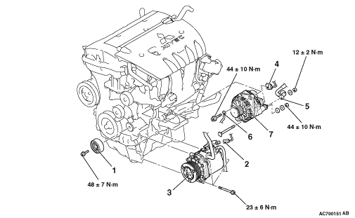 Mitsubishi Astron Engine Diagram