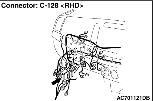 INSPECTION PROCEDURE 4: TC-SST-ECU power supply circuit