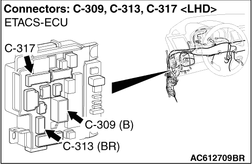 Code No.P1770: Inhibitor Switch System (Open Circuit)