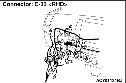 Code No. P0840: Malfunction of Secondary Pressure Sensor