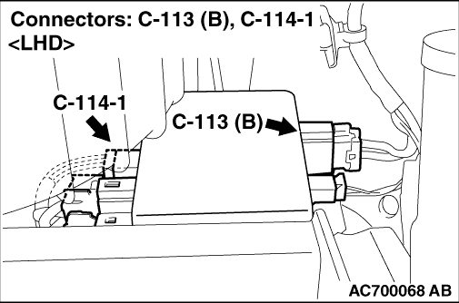 Code No.C1510 Torque sensor main Code No.C1511 Torque