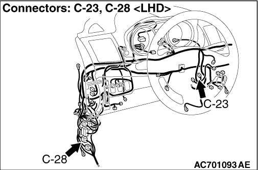 Inspection Procedure 13: Trunk lid opener switch does not