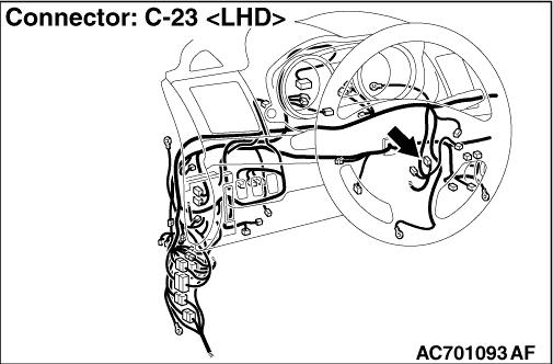 Inspection Procedure 3: Abnormality in KOS-ECU power