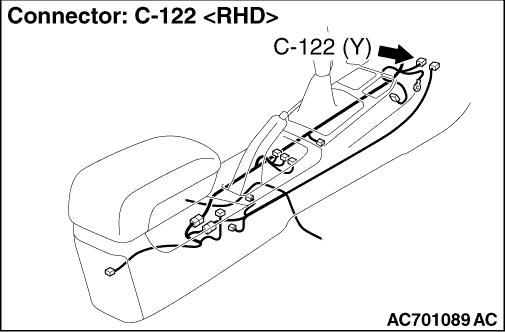 Code No.B1B02 Driver's air bag module (1st squib) system