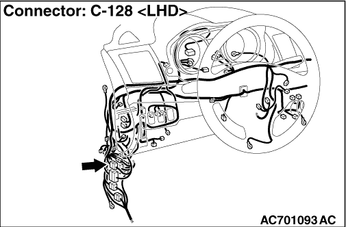 Code No.U0171 Right front impact sensor communication error